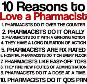 Pharmacist Sayings