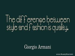 Giorgio Armani #designer #quote