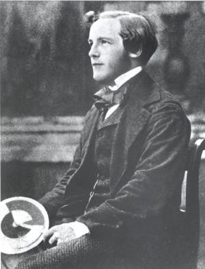 young james clerk maxwell with a color wheel maxwell derived a set of ...