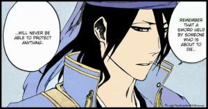 Bleach byakuya quote.