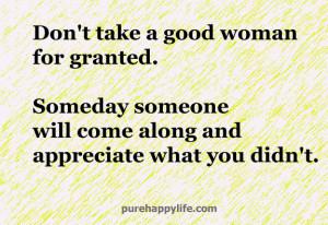 appreciate a good man quotes