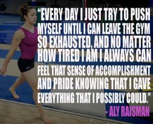 Gymnastics Quotes, Ali Raisman, Alyraisman Quotes, Aly Raisman Quotes ...