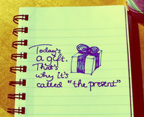 The Present Quotes & Sayings