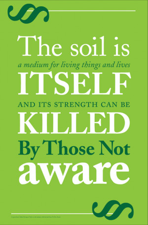 The Soil Is A Medium For Living Things And Lives It Self And Its ...