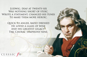 Beethoven Quotes Music Classical music poetry