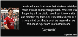 More Gary Neville Quotes