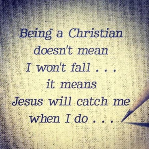 Being a Christian means