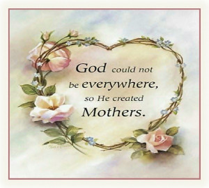 God Could Not Be Everywhere: