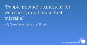 Misjudging Someone Quotes