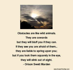 Obstacles Quotes