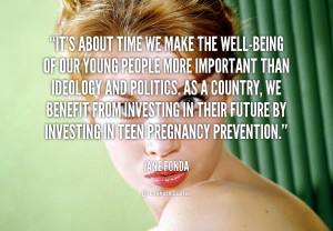 Teen Pregnancy Prevention Quotes