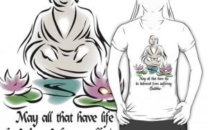 ShirtsGifts › Portfolio › Vegetarian Quote Buddha