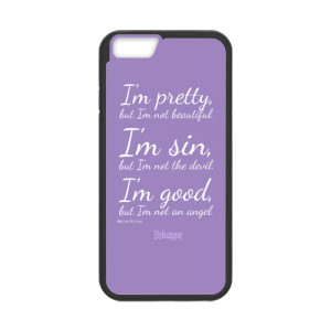 ... cases marilyn monroe marilyn monroe pretty quote case for iphone 6