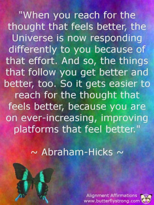 Law of Attraction - Abraham Hicks Quotes | pinned and loved by www ...
