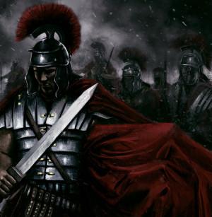 Roman legionary by PlER0