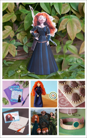 More Brave Goodies here Top 10 Brave Crafts, Party Things and Food