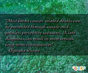 Most breast cancer-related deaths can be prevented