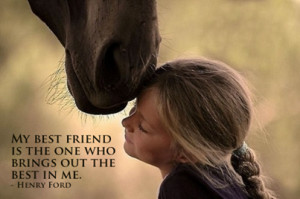 Horses Are Our Best Friends