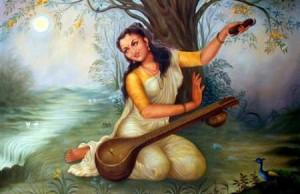 Meera Bai Meerabai Mirabai Krishna Bhakta Great Picture