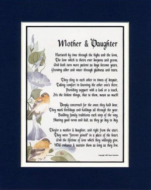 mother to daughter poems deceased mom poems for mom