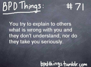 Borderline Personality Disorder #71