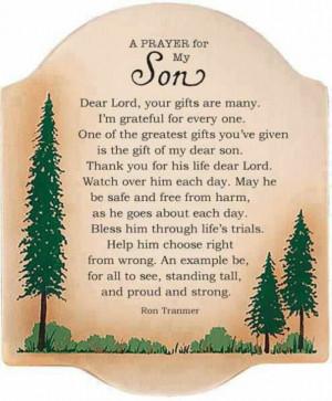 prayer for my son¤