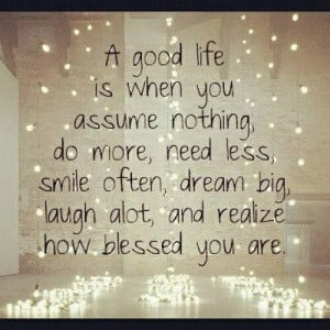 Being blessed!