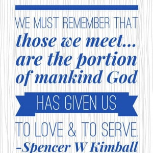 LDS conference quotes