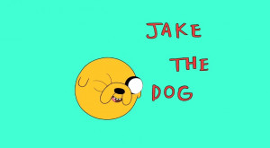 With Jake the Dog