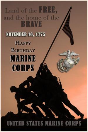 Marine Quotes Happy Birthday United States Marine Corps Uploaded To