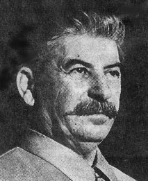 Josef Stalin, the ruthless Communist dictator of Soviet Russia, during ...