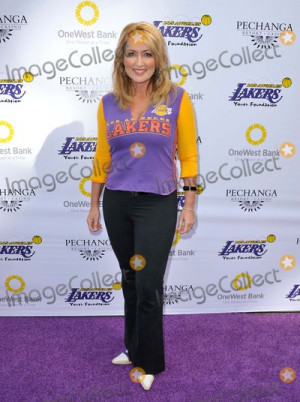 Wendy Burch Photo Wendy Burch attending Lakers Casino Night Held at