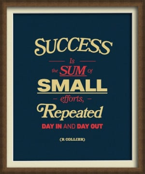 small business inspiration persistence quote small business isn
