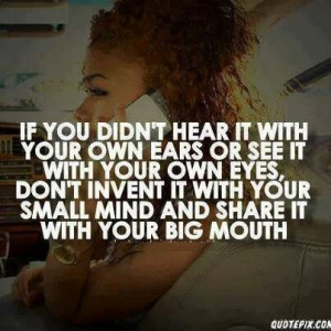 Don't Gossip!! You may be helping spread lies!