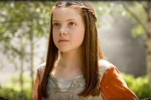 Georgie Henley as Lucy Pevensie