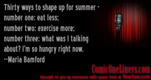 Shaping For Summer Maria Bamford Quote