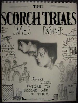Scorch Trials Book Poster by jdartfan