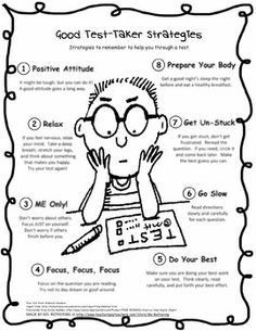 test encouragement quotes for kids | Test Taking Strategies