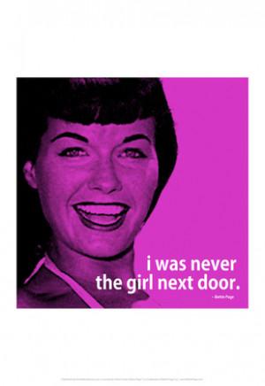 Bettie Page Girl Next Door