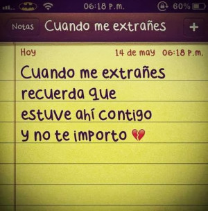 Pictures with sad love quotes in Spanish