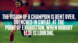 Mia Hamm – Soccer Great