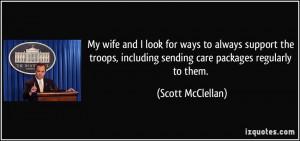 More Scott McClellan Quotes