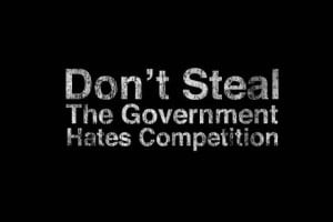 Black background funny government quotes text 2560x1920