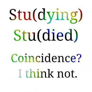 Coincidence? :)) #studying #humor