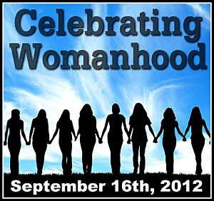 You can go to my Celebrating Womanhood post and add your post to the ...