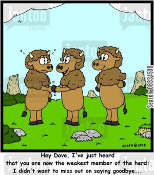 goodbye cartoon humor: 'Hey Dave, I've just heard that you are now the ...