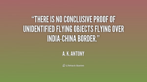 Quotes About Unidentified Conclusive Proof