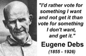 Eugene Debs In Jail Eugene Debs opposed