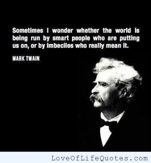 Funny Mark Twain Quotes Life: Mark Twain Archives Love Of Life Quotes ...