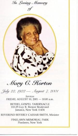 Funeral Card Friday ---Miss you Grandma